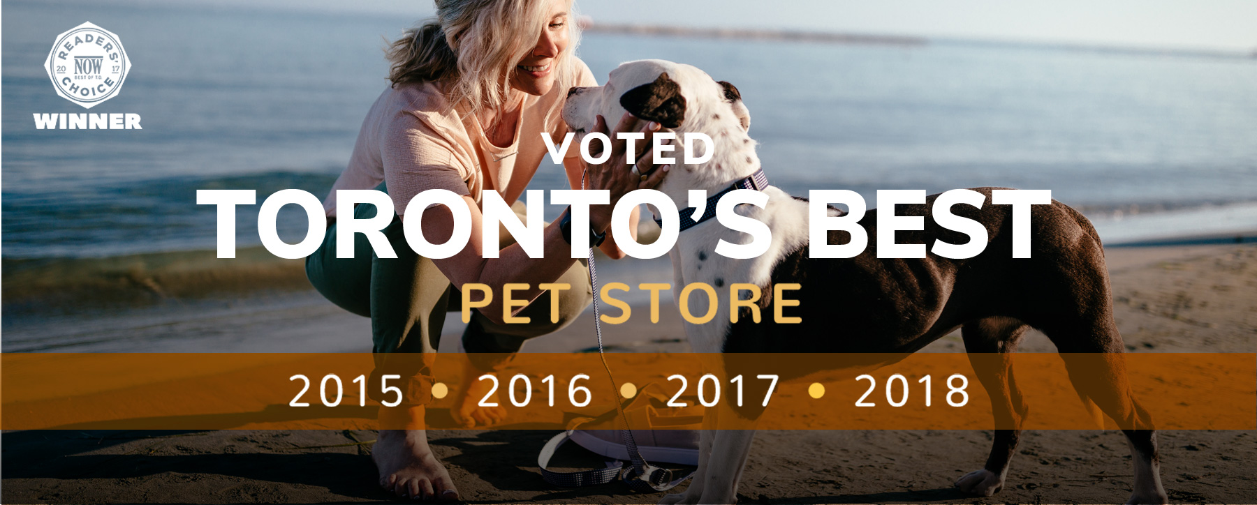 Voted Toronto's Best Pet Store